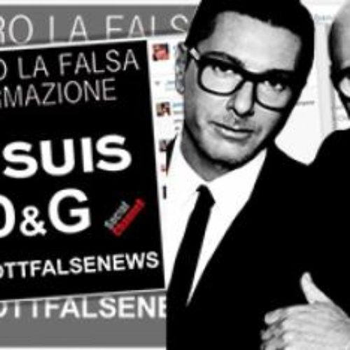 Dolce And Gabbana Respond To Backlash Over Controversial Remarks