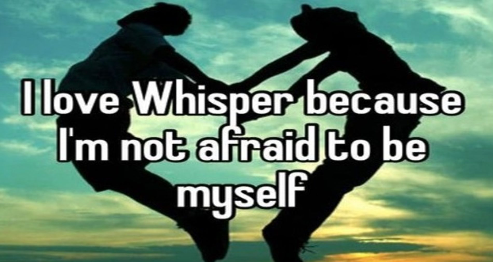 Photo: Whisper pulled one on me