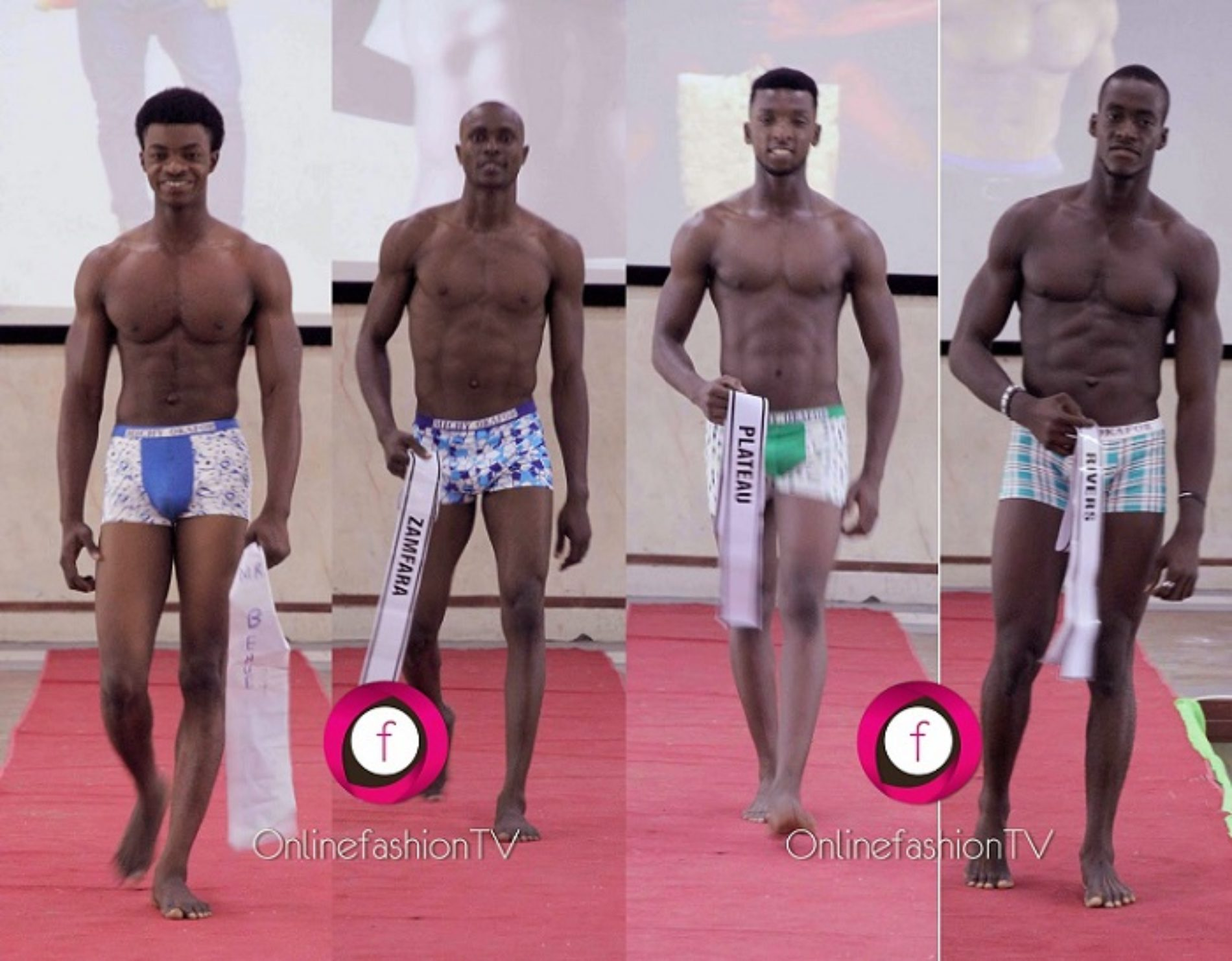 Man Crush Friday: Mr Ideal Nigeria Contestants In Swimwear