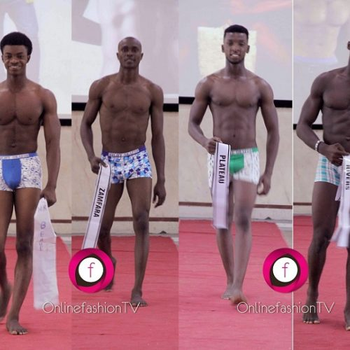 Man Crush Friday: Mr Ideal Nigeria Contestants In Swimwear