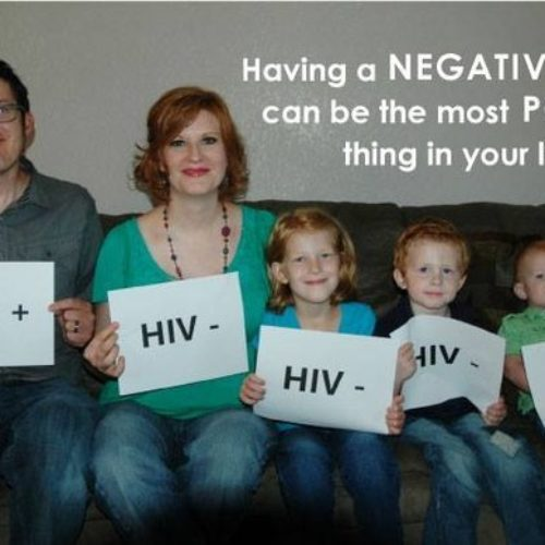 Photo Of HIV+ Man With His HIV- Family Goes Viral, Combats Stigma