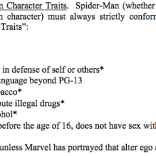 Sony Email Hack Reveals Spiderman Isn't Allowed To Be Gay