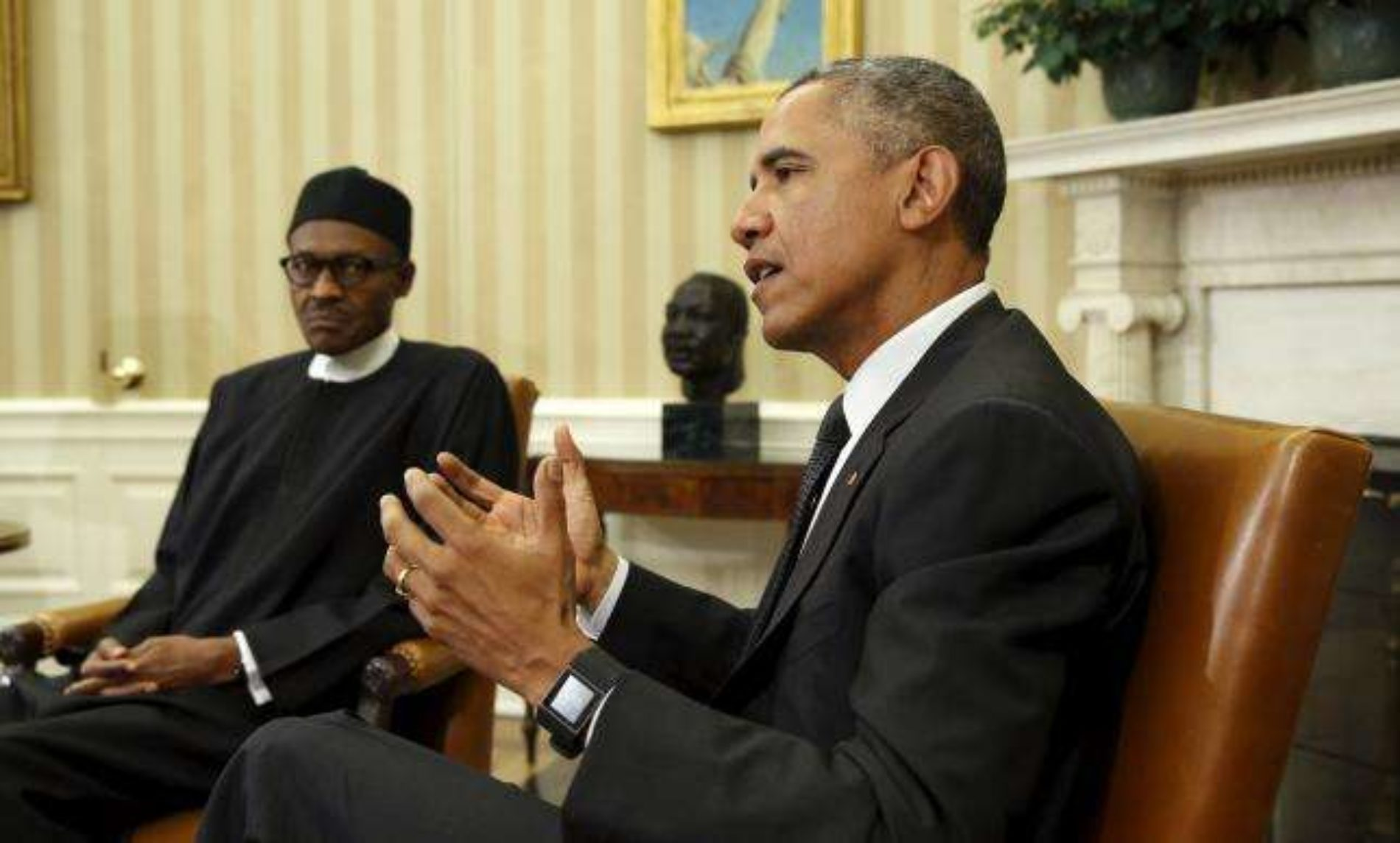 'US Government has aided and abetted Boko Haram.' – President Buhari