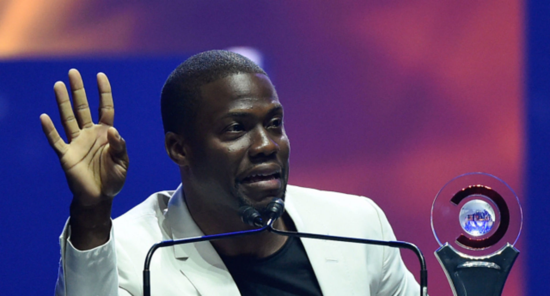 Kevin Hart addresses 'joke' about not wanting a gay son