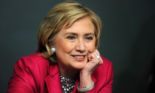 Hillary Rodham Clinton Signs Copies Of Her Book 'Hard Choices' In New York