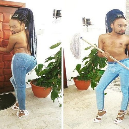 'Presenting Nigeria's Caitlyn Jenner.' Denrele Edun Shocks The Internet With new Photos