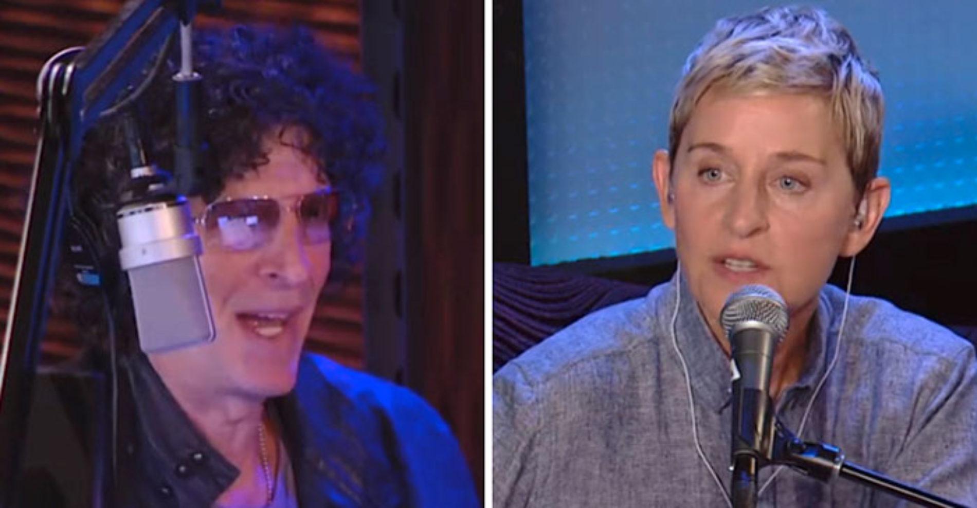 'Caitlyn Jenner Is Judging Gay People.' Ellen DeGeneres To Howard Stern