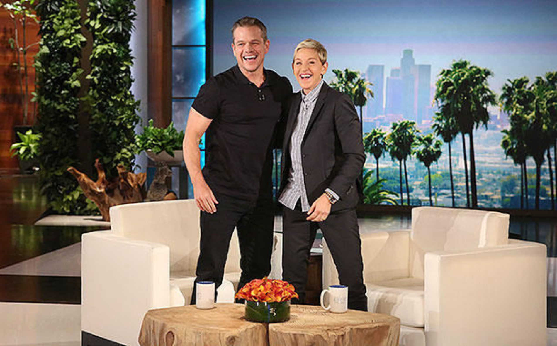 Matt Damon Clarifies His Comments, Tells Ellen He Was Quoted Out Of Context