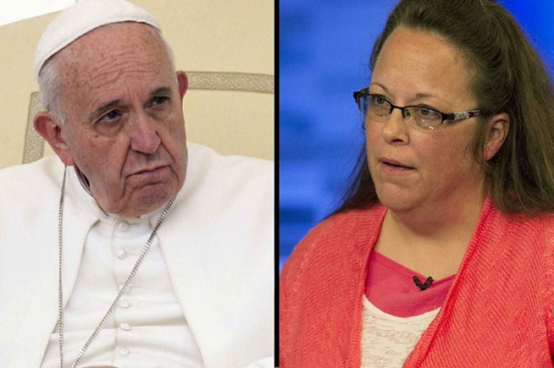 The Real Story Behind The Pope's Meeting With Kim Davis