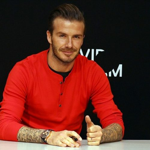 David Beckham Crowned PEOPLE's Sexiest Man Alive of 2015