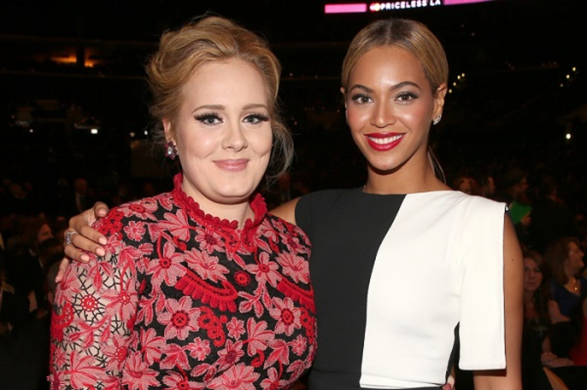 The Question About Whether You'd Like To Hear An Adele and Beyoncé Collaboration
