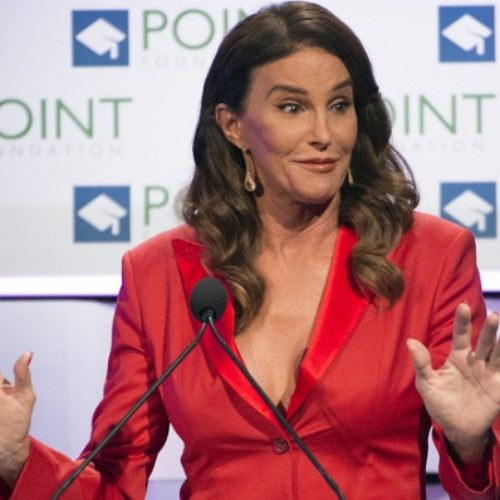 Caitlyn Jenner apologises for 'man in a dress' comments