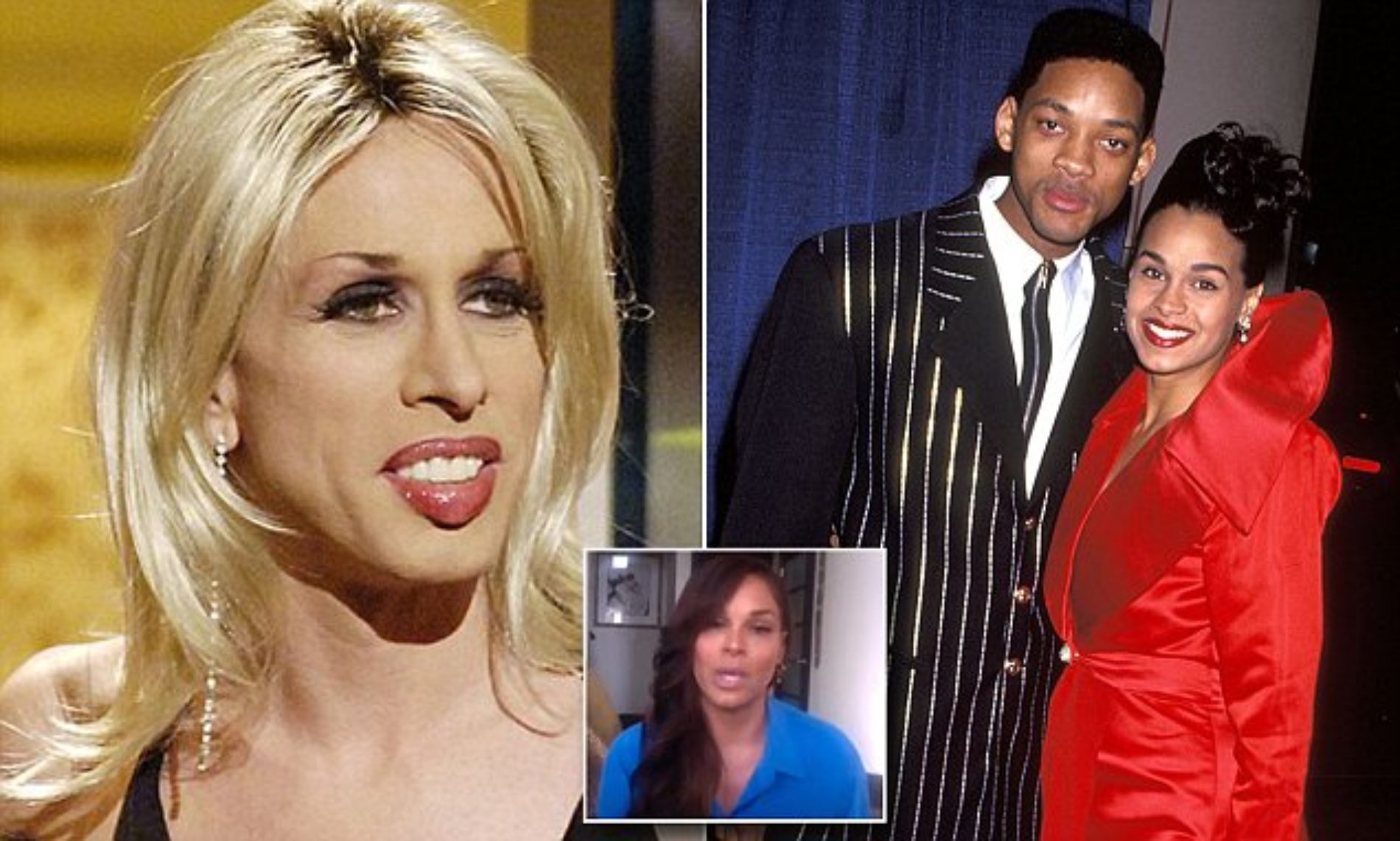 Will Smith's first wife denies claims she walked in on him 'servicing his sugar daddy'