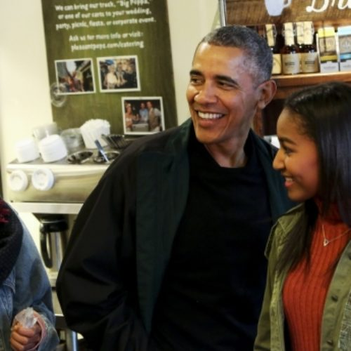 Obama says watching his daughters grow up in LGBT-inclusive generation gives him hope