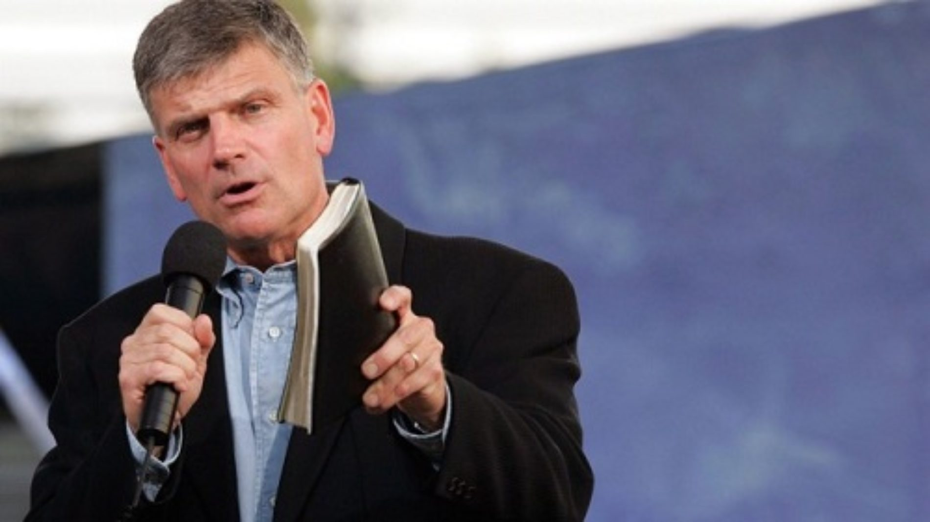 """Rev. Franklin Graham Denounces Gay Christians As """"The Enemy"""" In Radio Interview"""