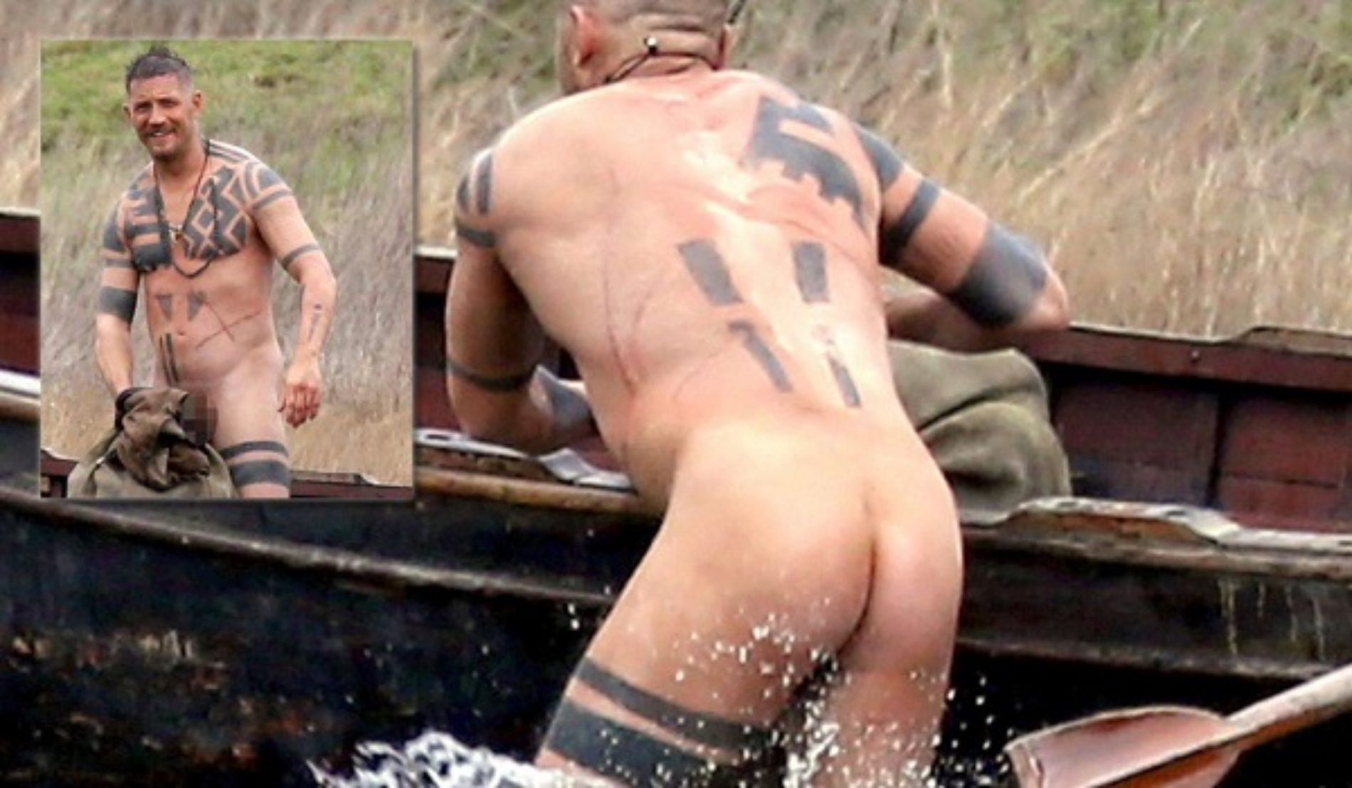 Nice Ass, Tom Hardy!