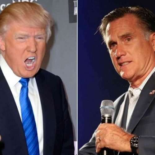 Mitt Romney Blasts Donald Trump, Trump Hits Back With Blowjob Jibe