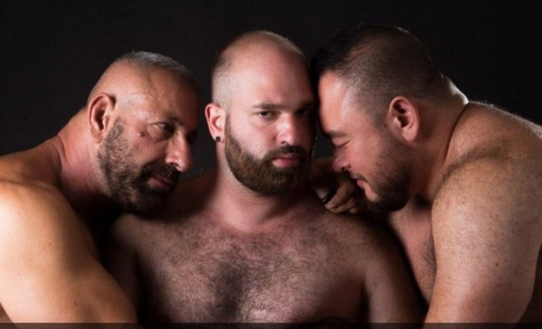 Three gay men speak of their three-way relationship