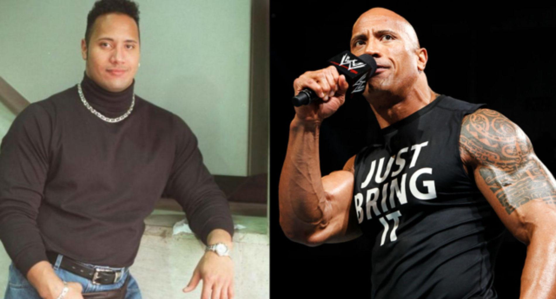 Dwayne 'The Rock' Johnson says he used to look like a buff lesbian