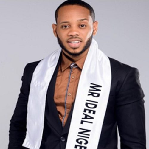 Current Mr Ideal Nigeria shows off his eggplant on Instagram