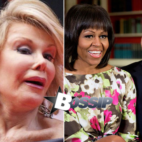 Radio host insists Obama killed Joan Rivers for suggesting that Michelle is transgender