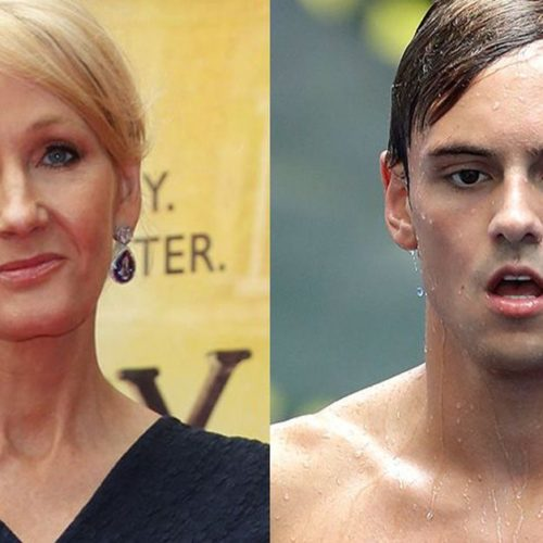 J.K. Rowling shuts down homophobic tweet trolling Tom Daley following his Olympic exit