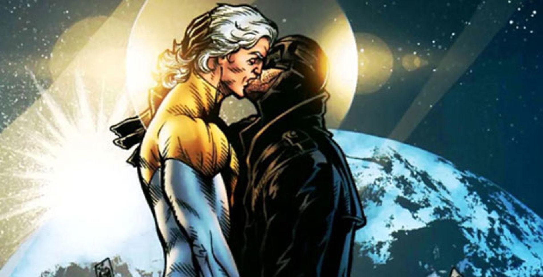 DC Comics features a Superhero Gay Couple
