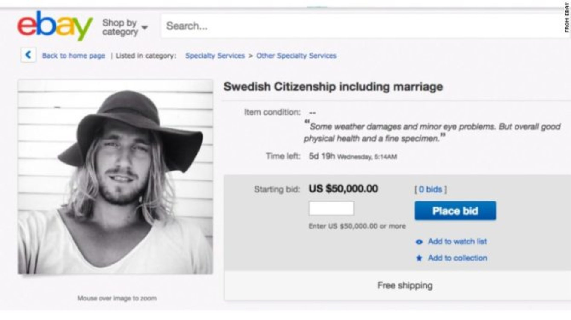 Swedish Surfer Offers Hand In Marriage To Any Man Or Woman Looking To Flee Donald Trump's America