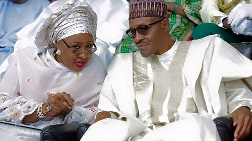 2016 16 Buhari and First lady