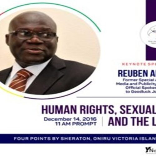 Reuben Abati, TIERs and the Nigerian LGBT