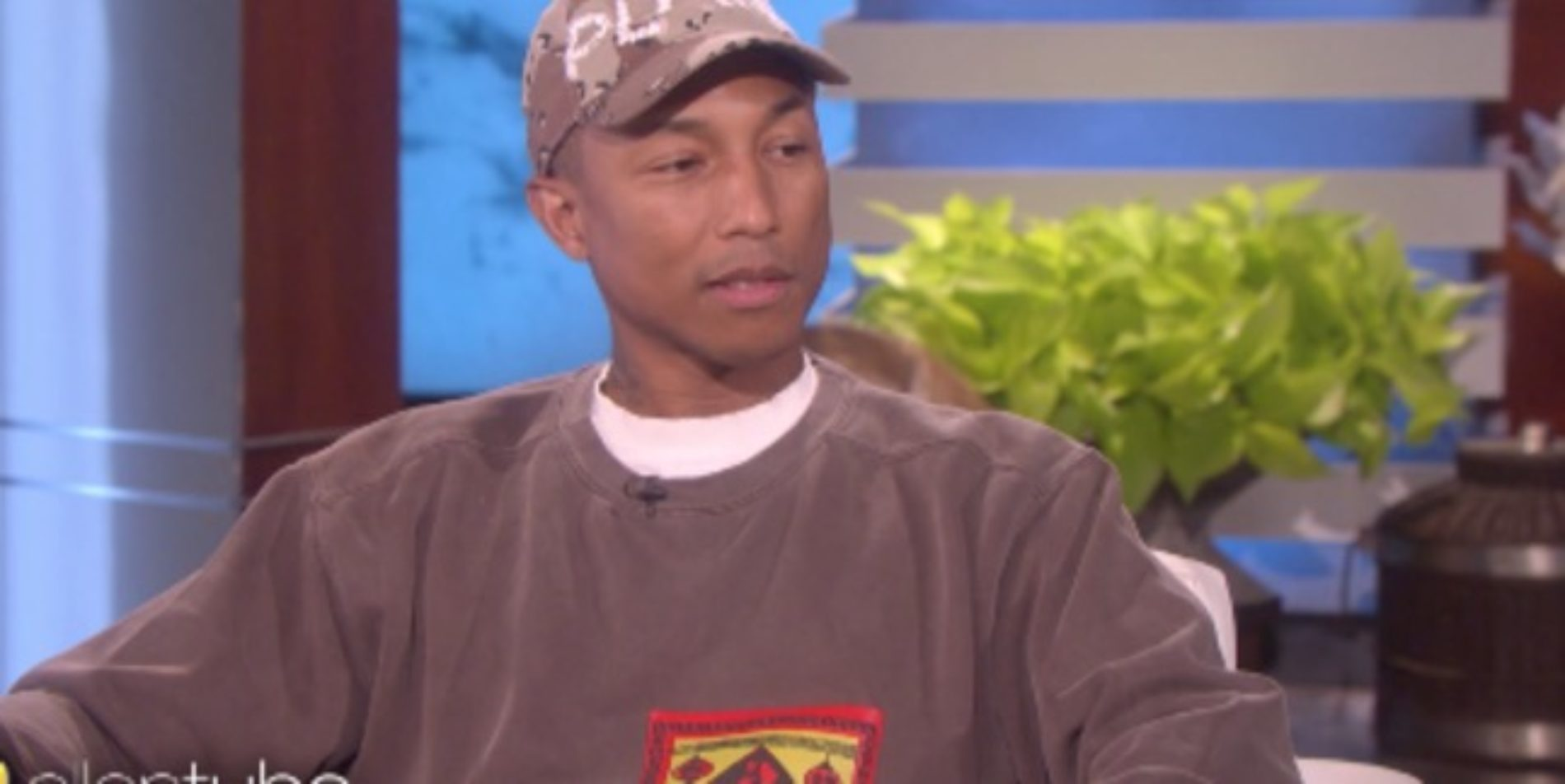 """""""We All Have To Get Used To Everyone's Differences."""" Pharrell shuts down Gospel singer Kim Burrell's antigay rant on Ellen's show"""