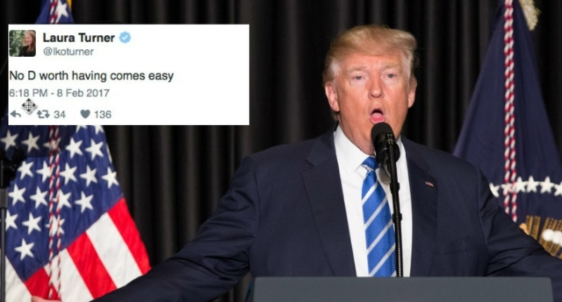 Donald Trump asked Twitter for 'EASY D' and the Internet had a field day