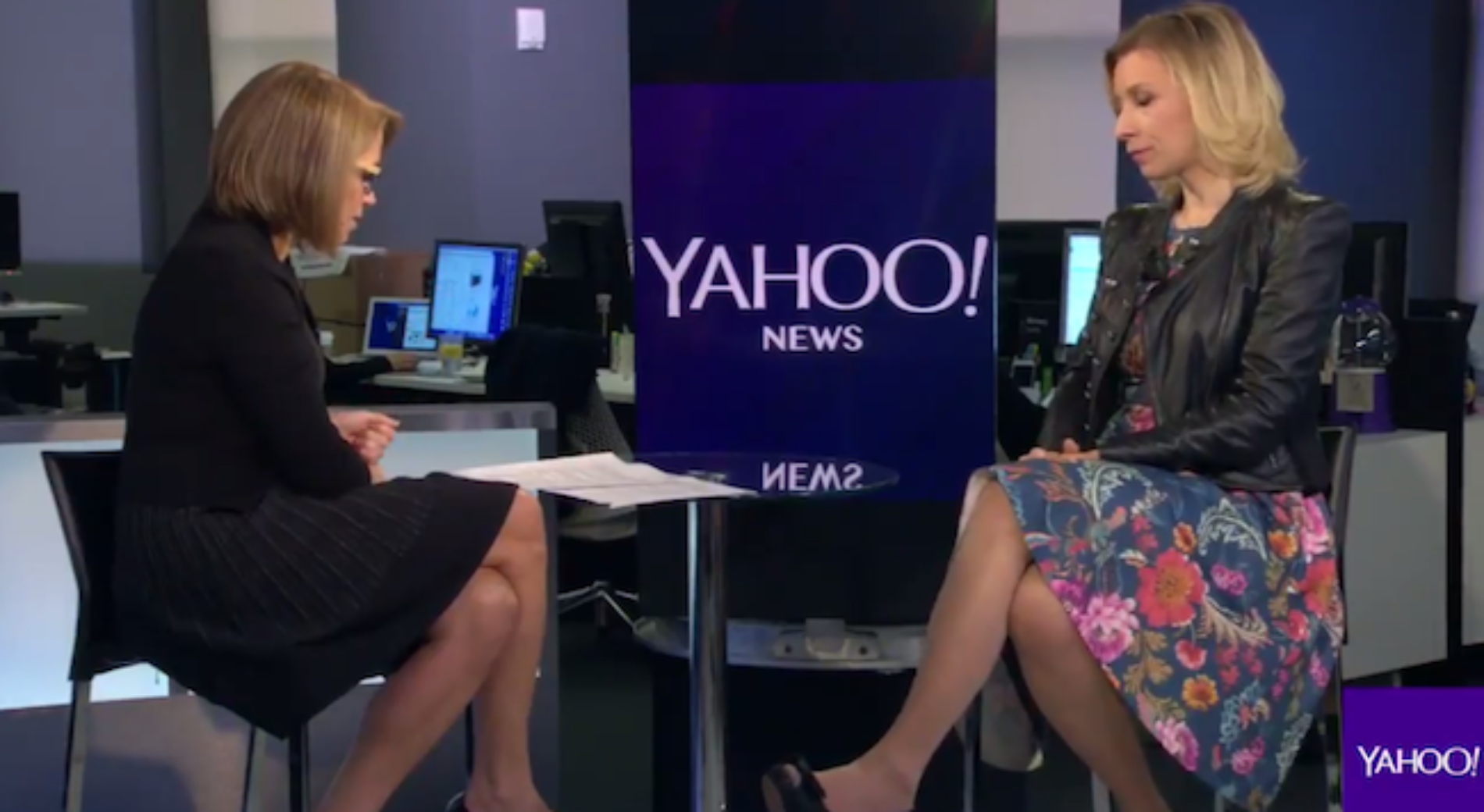 Katie Couric asks Russian spokeswoman about gay torture in Chechnya. Her response is troubling.
