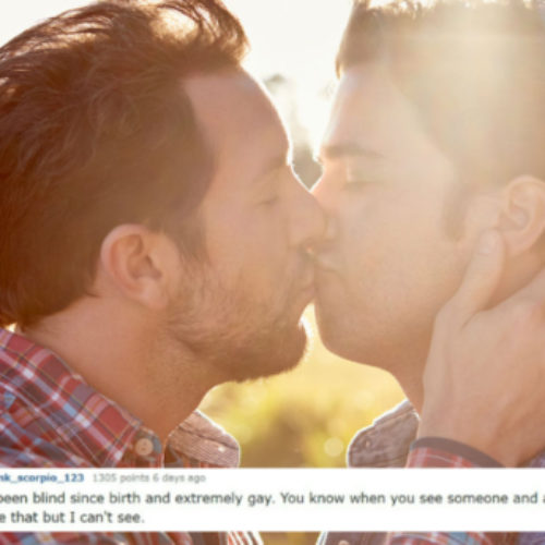 Blind people reveal how they knew they were gay