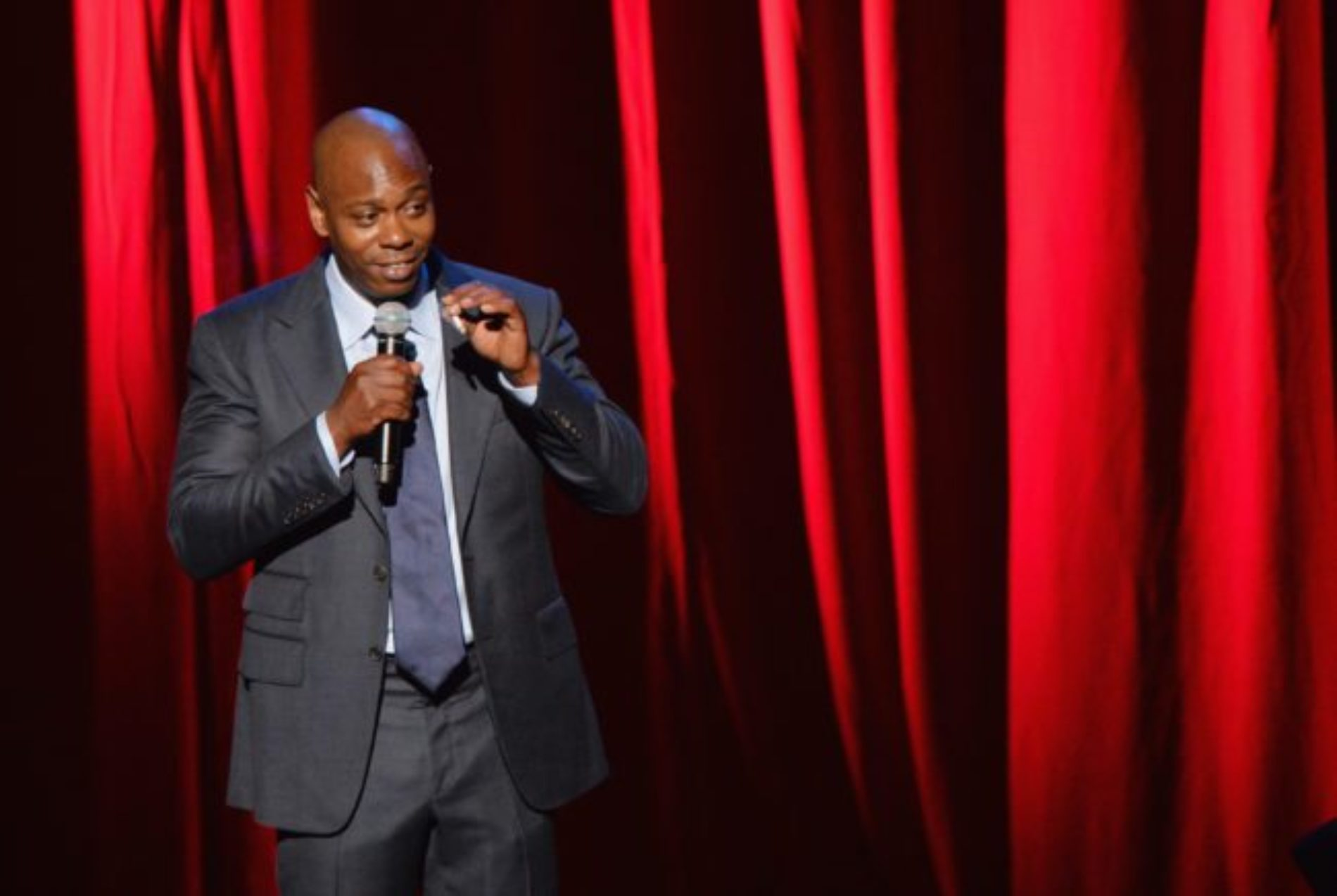 Dave Chappelle rejects accusations of transphobia after 'man-pussy' comments about Caitlyn Jenner