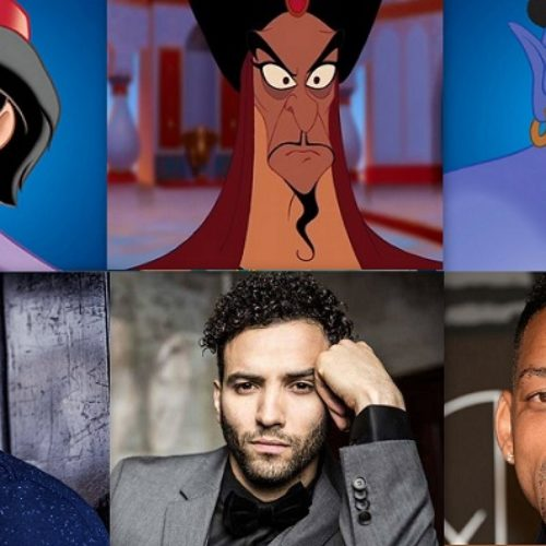 How about a look at the gorgeous male cast of Aladdin the live action remake?
