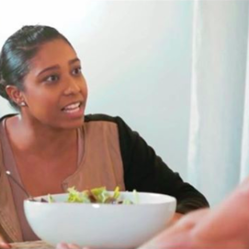 The Internet's New Fave Meme Is A Girl In A Hilarious Porn Clip Just Trying To Eat A Salad