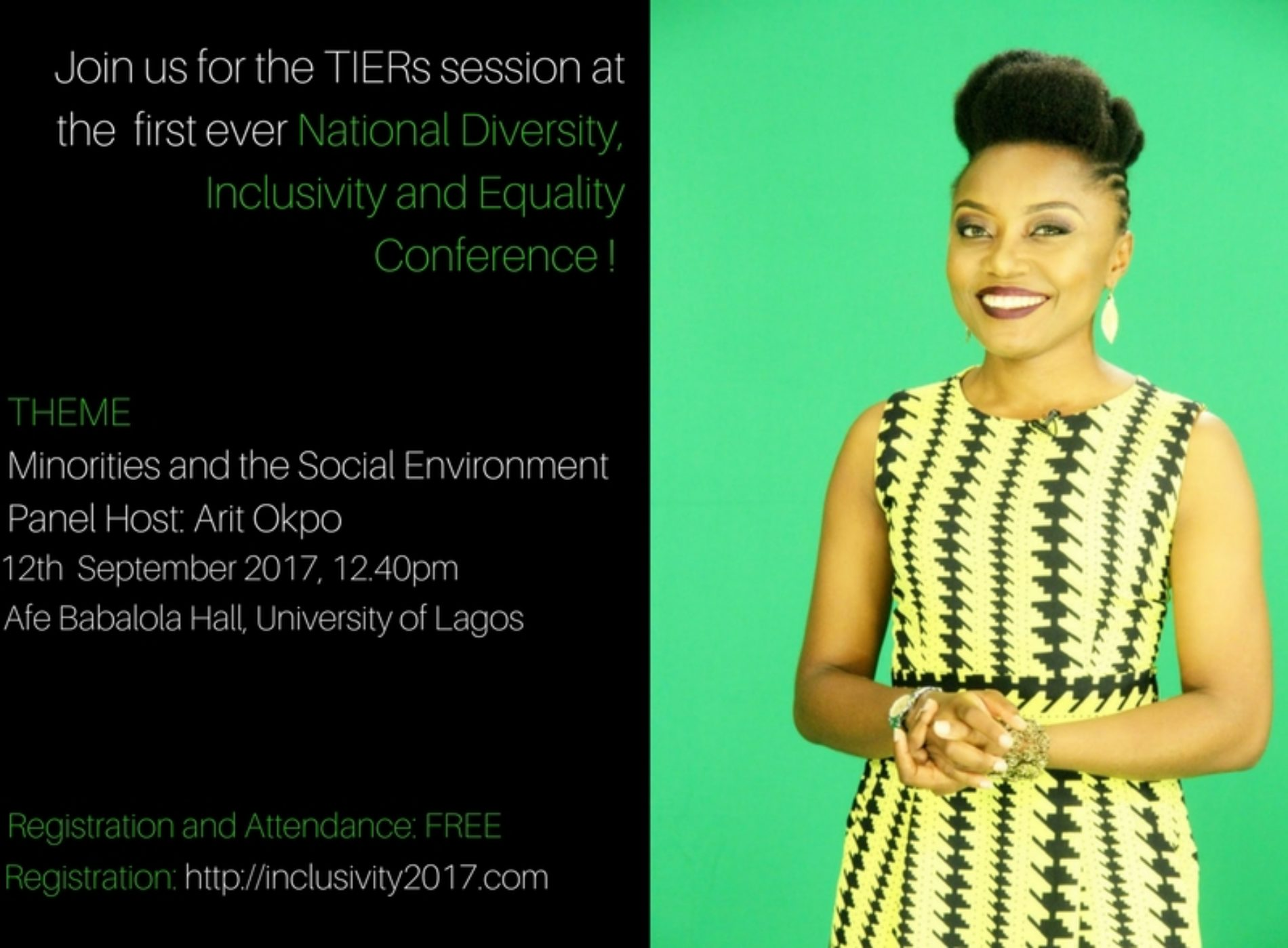 Update on the TIERs-partnered national conference on Diversity, Inclusivity and Equality