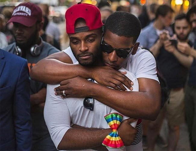 from Rex black gay men identity