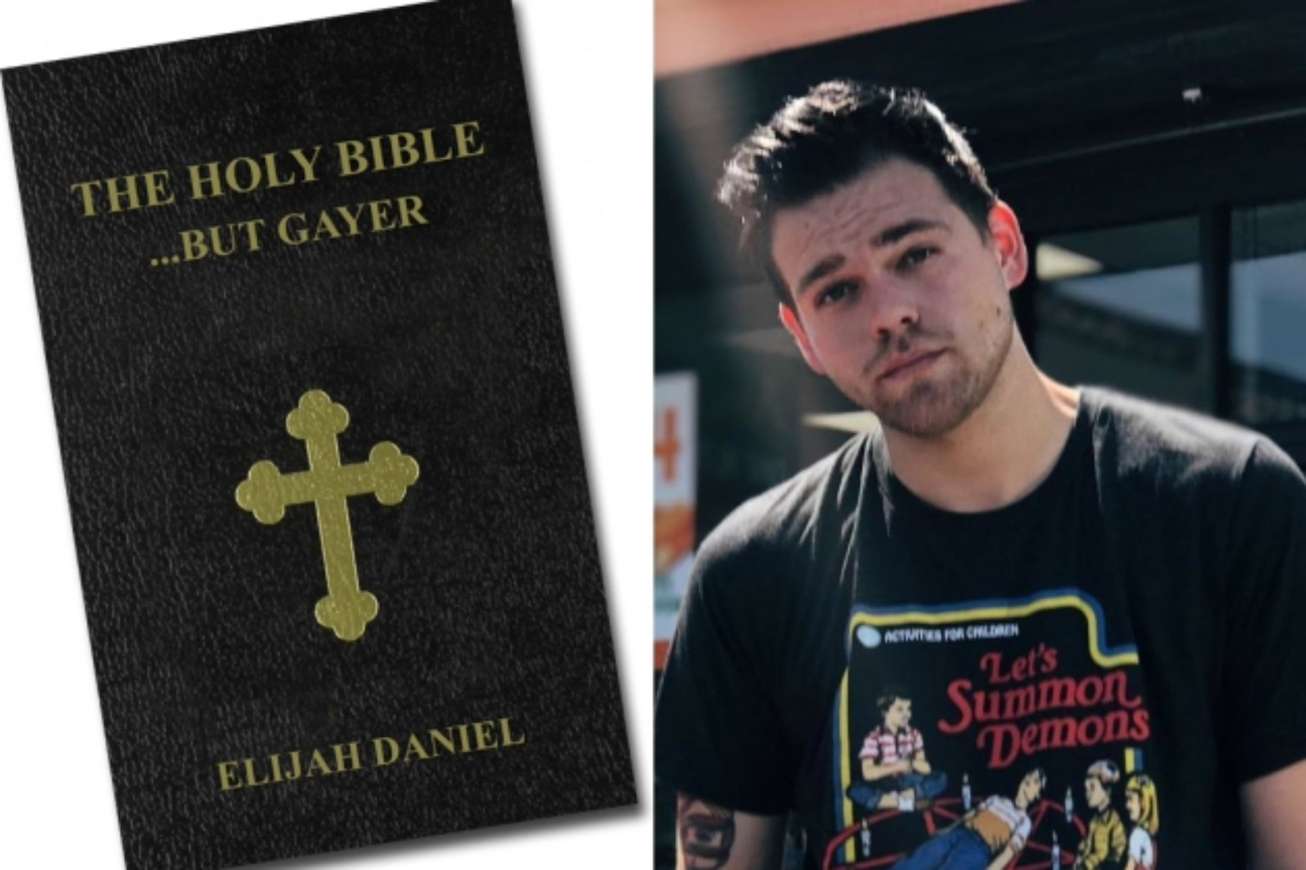 Writer of Satiric Gay Bible Reveals Why He Chose Rihanna to be God, Donald Trump to be Satan & Taylor Swift to be the Serpent