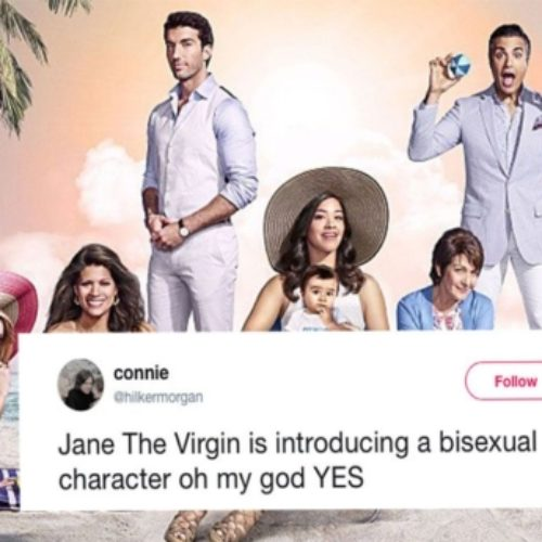 'Jane the Virgin' introduces a bisexual character and fans are excited