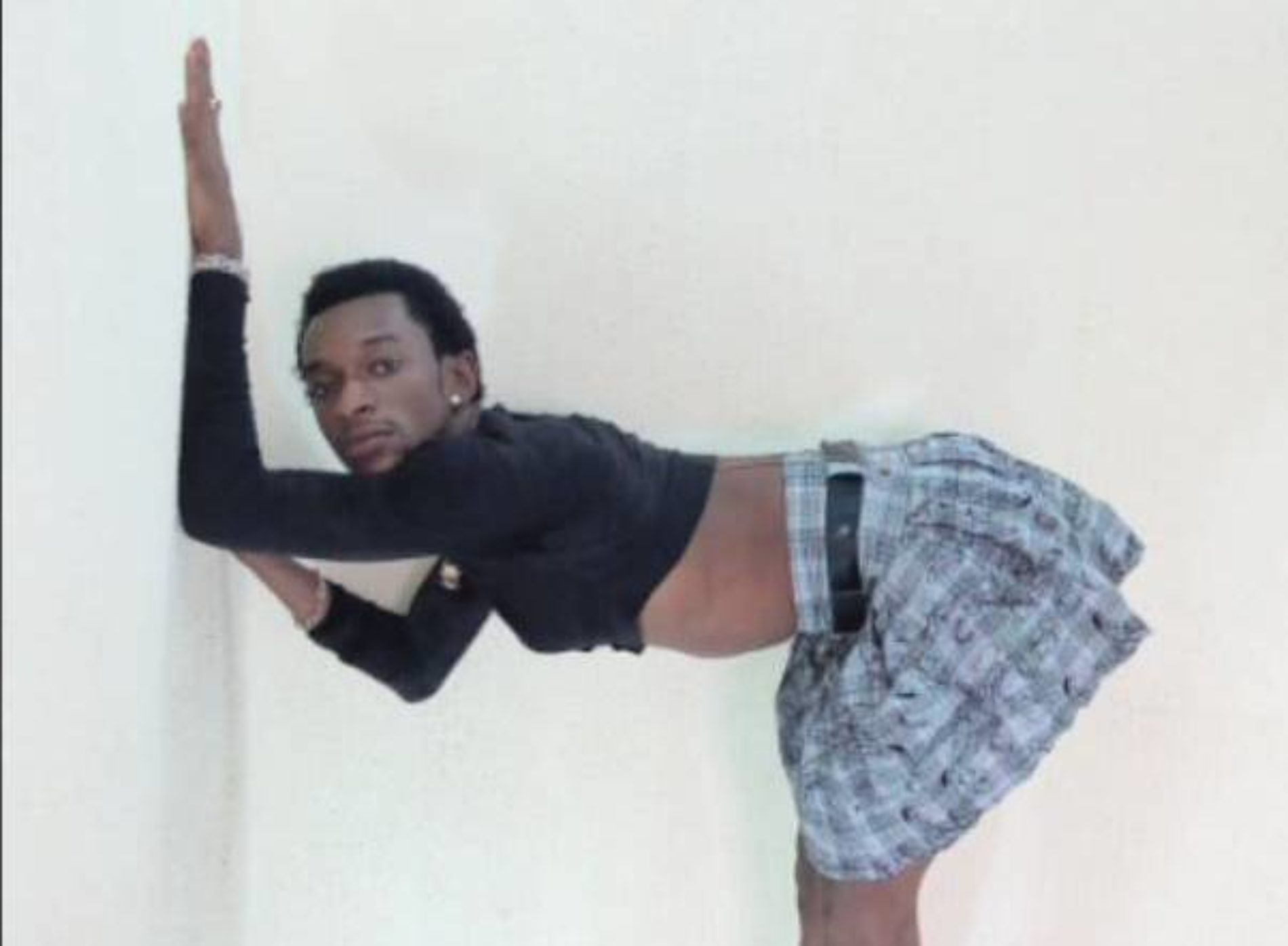 Nigerian Male Entertainer, Socrates Uduk, Debuts Another Season Of His Sexy Dancing