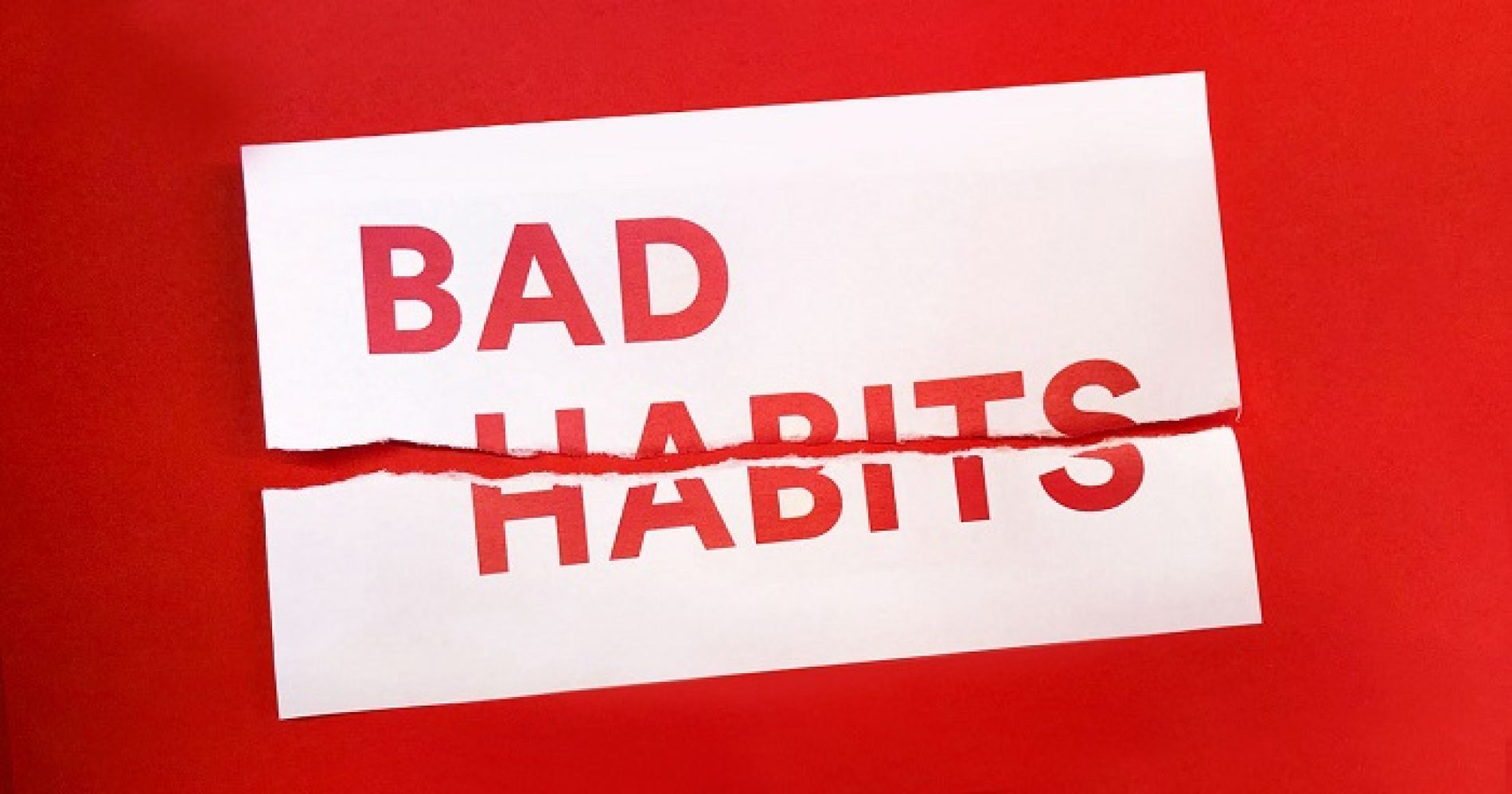 What bad habits will you be dumping in 2017?