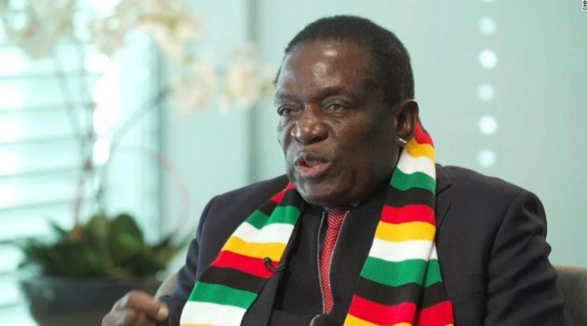 President Mugabe's successor, Emmerson Mnangagwa, says he won't legalize gay relations in Zimbabwe