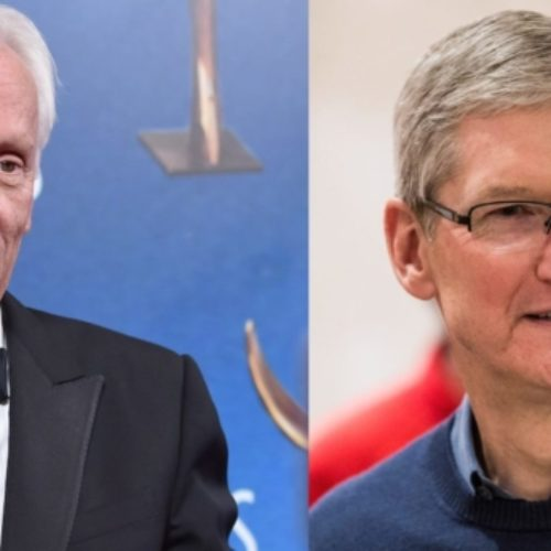 James Woods slams Tim Cook for leaving heterosexual couples out of a new Apple ad