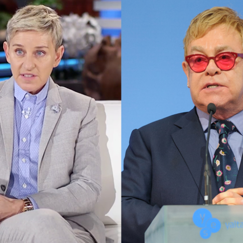 Ellen DeGeneres recalls her coming out including Elton John's hurtful comments about her