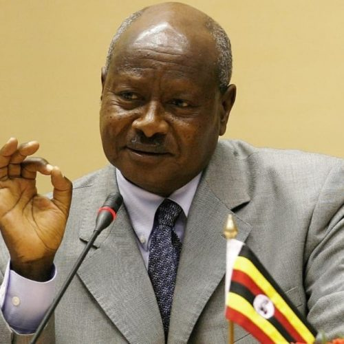 President Museveni of Uganda says the mouth is for eating, not oral sex