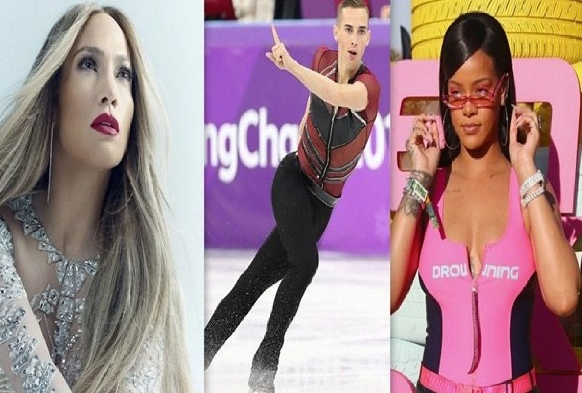 Jennifer Lopez, Adam Rippon and Rihanna feature in Time's most influential people 2018