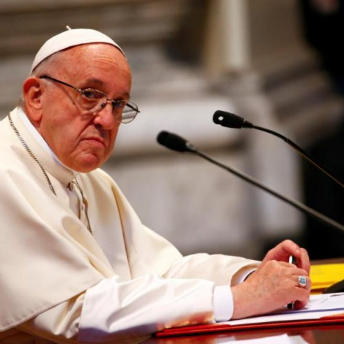Do Not Applaud The Pope's Stance On Homosexuality