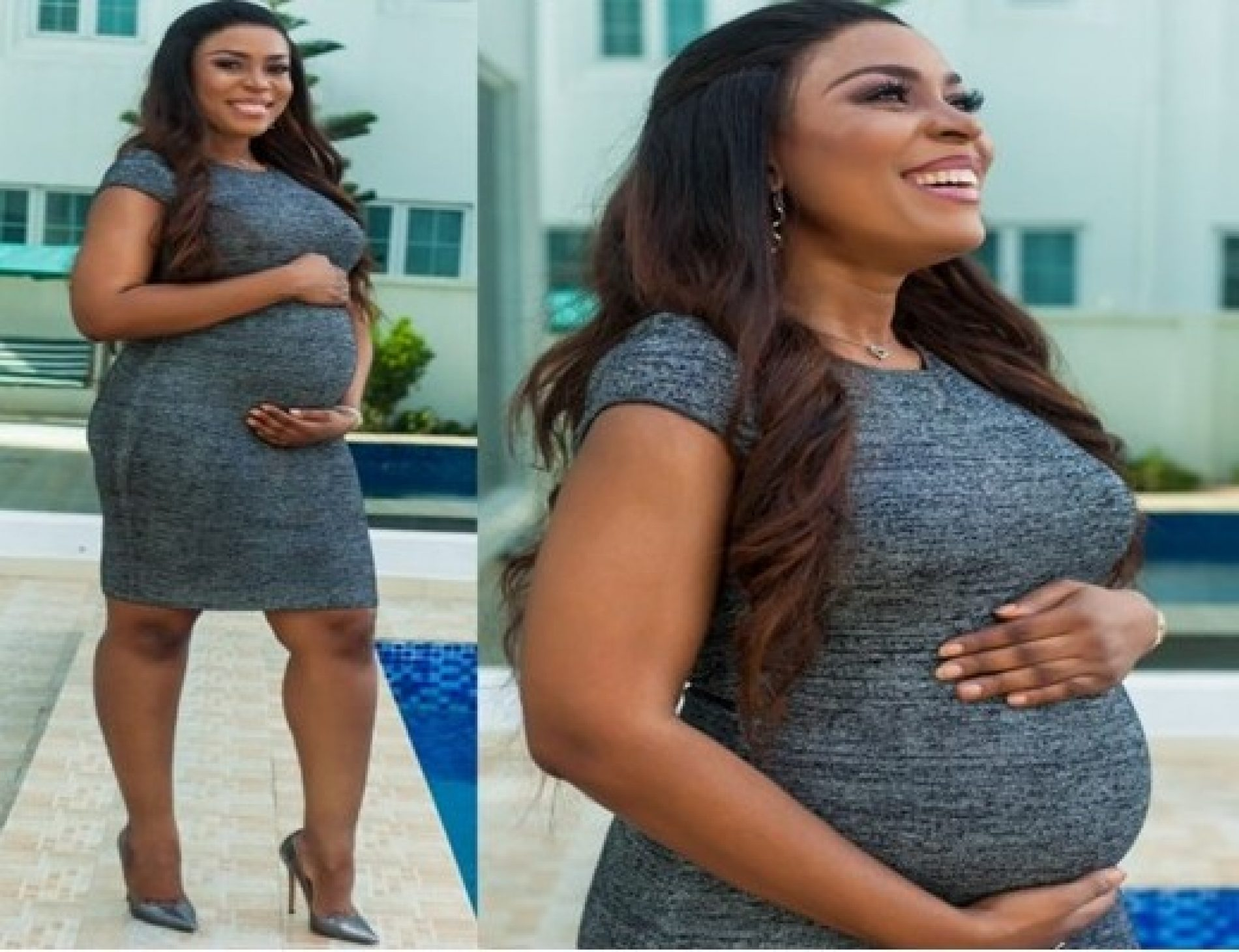 """Dear Son, I love you more than life itself."" Linda Ikeji is pregnant and cannot wait to be a mother"